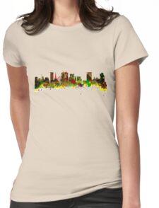 Birmingham  City  UK Skyline Womens Fitted T-Shirt