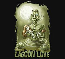 Lagoon Love Womens Fitted T-Shirt
