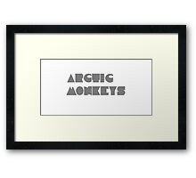 Arctic Monkeys Framed Print