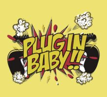Plug In Baby One Piece - Short Sleeve