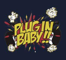 Plug In Baby Kids Tee
