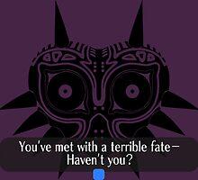 Legend of Zelda - Majora's Mask: Terrible Fate by holycrow