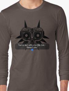 Legend of Zelda - Majora's Mask: Terrible Fate Long Sleeve T-Shirt