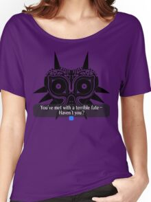 Legend of Zelda - Majora's Mask: Terrible Fate Women's Relaxed Fit T-Shirt