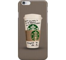 Inigo's Coffee iPhone Case/Skin