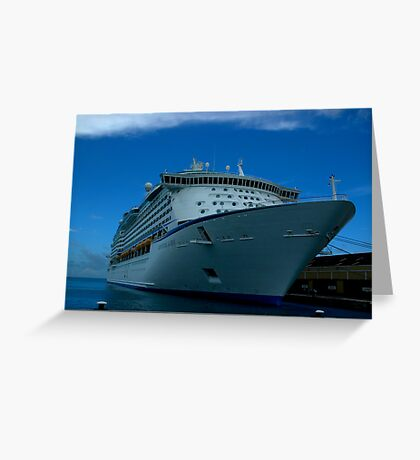 Adventure of the Seas Greeting Card