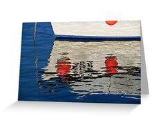 Lyme Regis Harbour ~ December Greeting Card