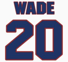 National football player Jonathan Wade jersey 20 by imsport