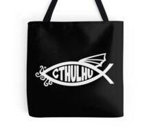 Cthulhu Fish Tote Bag