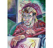 Self-portrait as Artist (Oils)- Photographic Print