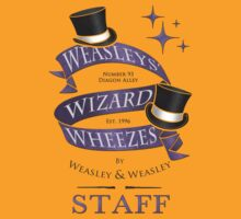 Weasleys' Wizard Wheezes Staff Shirt by thegadzooks