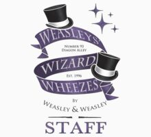 Weasleys' Wizard Wheezes Staff Shirt Kids Clothes