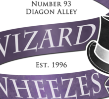 Weasleys' Wizard Wheezes Staff Shirt Sticker