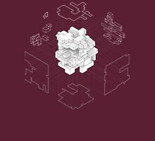 Isometric Cube Unisex T-Shirt