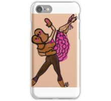 Gingerbread pas de deux iPhone Case/Skin