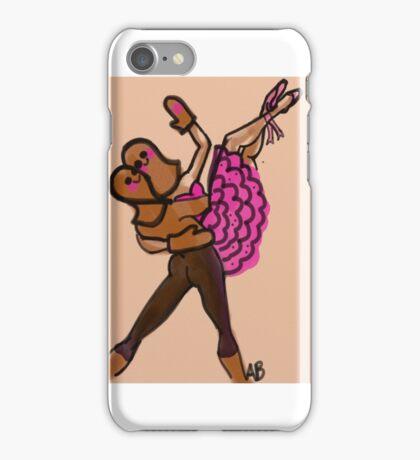 Gingerbread pas de deux iPhone Case/Skin