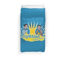 Troy and Abed in the Morning Duvet Cover
