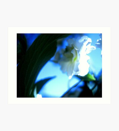 Blue Swoon Art Print