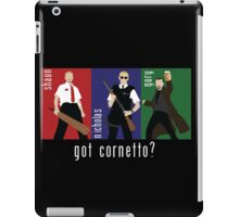 Got Cornetto? iPad Case/Skin