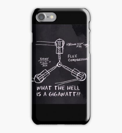1.21 Gigawatts iPhone Case/Skin