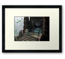 Bonestrewn Crest Framed Print