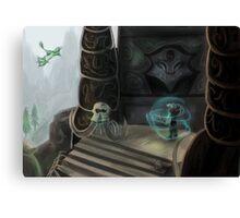 Bonestrewn Crest Canvas Print