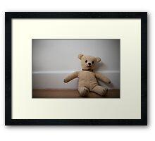 Day 81 - teddy Framed Print