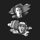 The Doctor and Donna Noble (iPad and iPhone case) by thegadzooks