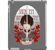 Stick 'Em With The Pointy End iPad Case/Skin