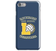 Lawndale HS Volleyball iPhone Case/Skin