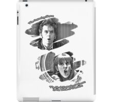 The Doctor and Donna Noble (without DW Logo) iPad Case/Skin