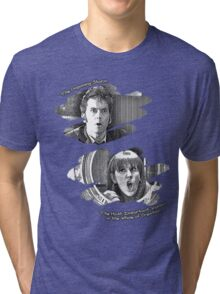 The Doctor and Donna Noble (without DW Logo) Tri-blend T-Shirt