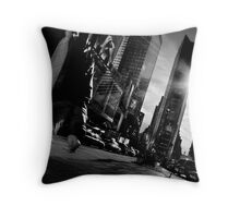 Lack of Time(s Square) Throw Pillow