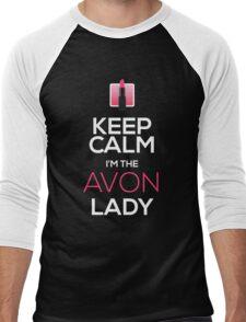 Keep Calm, I'm The AVON Lady! Men's Baseball ¾ T-Shirt