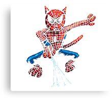 Spider-Cat Canvas Print