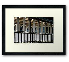 Terminal Lines Framed Print
