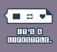 It's a Lifestyle (Dark Outline) Kids Clothes