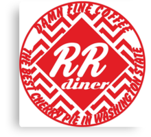 Double R Diner Canvas Print