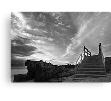 staircase to the sky Canvas Print