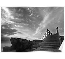 staircase to the sky Poster