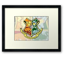 The Kanto School of Witchcraft and 'Rizardry Framed Print