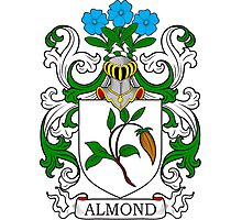 Almond Coat of Arms Photographic Print