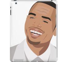 Chris brown Illutration iPad Case/Skin