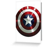 Captain America Greeting Card