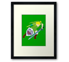 The Legend of Zelda - Link Framed Print