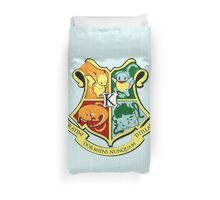 The Kanto School of Witchcraft and 'Rizardry Duvet Cover