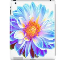 Blue Dahlia iPad Case/Skin