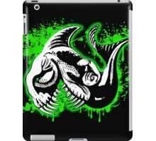 Feisty Fish Green and Black iPad Case/Skin
