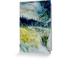 watercolor 120106 Greeting Card