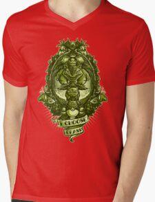 I choose grass  Mens V-Neck T-Shirt